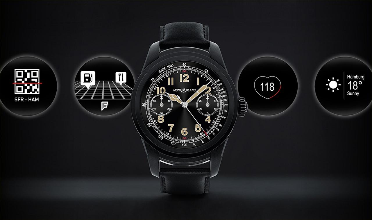 Montblanc Smartwatch Design